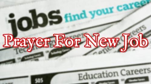 A Step of Faith Through Prayer to Find a Job - SavvyGood